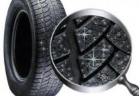 Studded tires - a guarantee of safety on the winter road