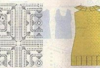 Easy crochet: women's dress with diagrams