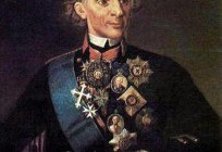 Famous sayings. Suvorov about the army, soldiers and tactics.