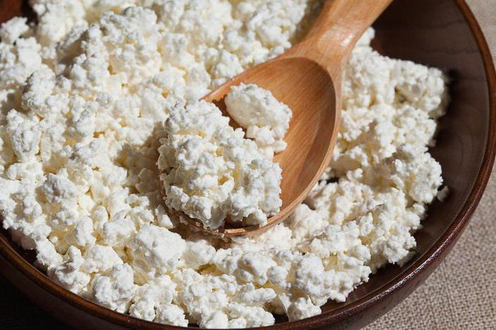 cottage Cheese. Caloric value per 100 g
