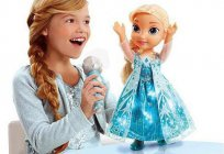 Popular with little princesses doll: Elsa from