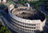 The Colosseum in Rome. The ancient stadium