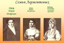 What was the name of the grandmother of Lermontov? The woman in the life of the poet