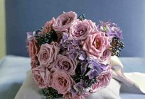 Wedding bouquets of roses: styles, photos
