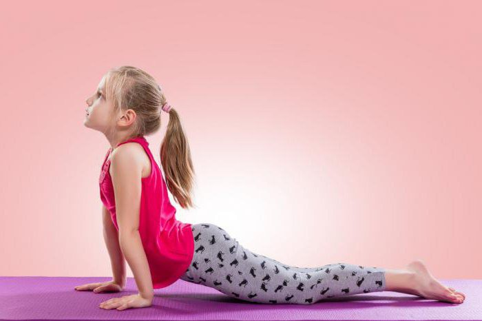 Cobra pose in yoga for spine straightening