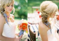 Trendy braids for wedding