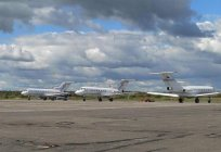 Takes guests of Vologda. Airport location, how to get