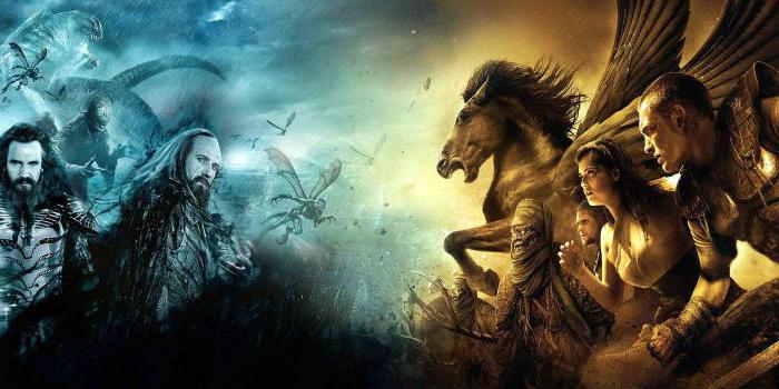 films about the gods of Olympus titans list