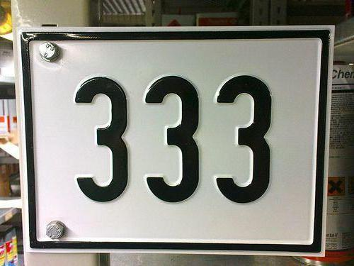 the significance of the number 333 in numerology