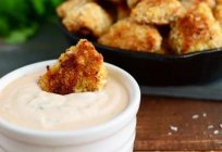 The sauce for the nuggets: easy cooking recipes at home