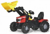 Children's pedal tractor: features and selection recommendations