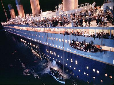 How many died on the Titanic