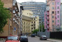 Where is the shortest street of Moscow