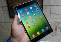 Overview of the tablet Xiaomi MiPad. Xiaomi MiPad: features, description and reviews