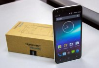 Smartphone Highscreen Hercules: reviews, specifications, prices