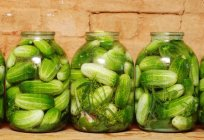 In barrels, jars and packages make a wonderful cucumber cold pickling