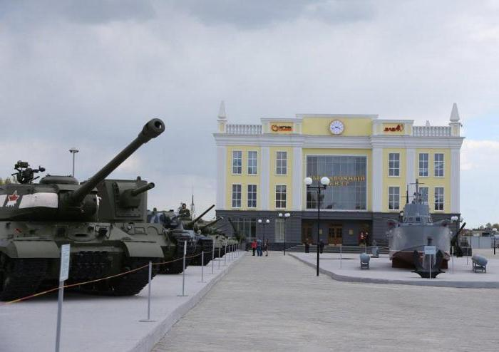 Museum of military vehicles in Pyshma