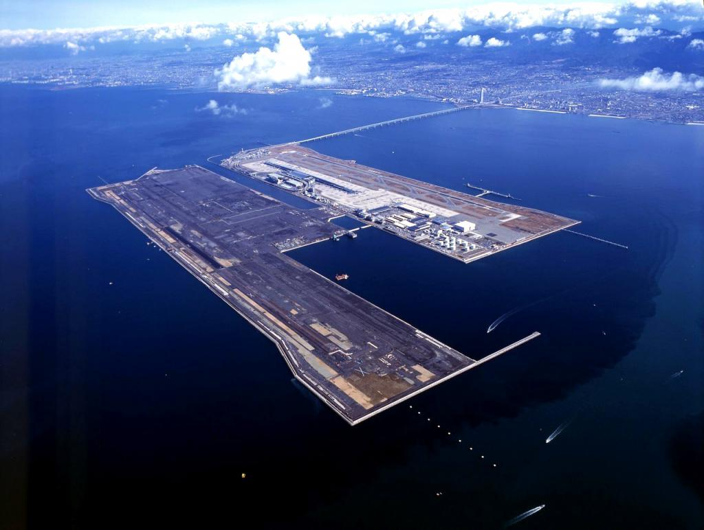 airport in the sea