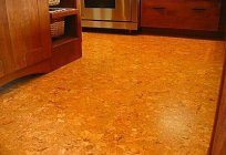 Cork flooring: types, characteristics, methods of laying