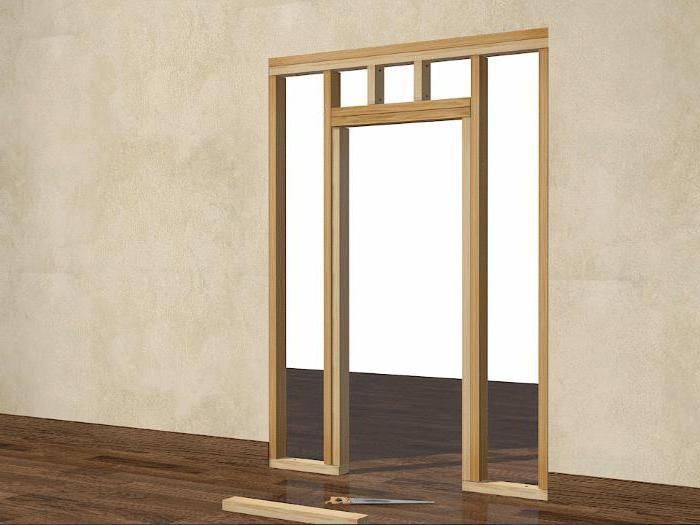 how to build a door frame interior door