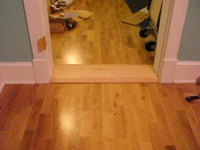 assemble door frame threshold