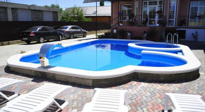 Гостевой дом Анапа с бассейном