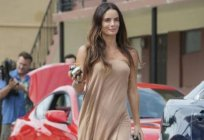 Professional activities and personal life of actress Gabrielle Anwar