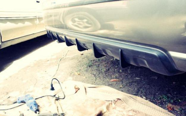 prices on bumper tuning VAZ