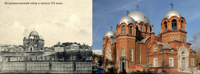 Peter and Paul Cathedral, Tomsk schedule of services