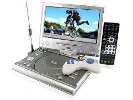 portable DVD player TV tuner