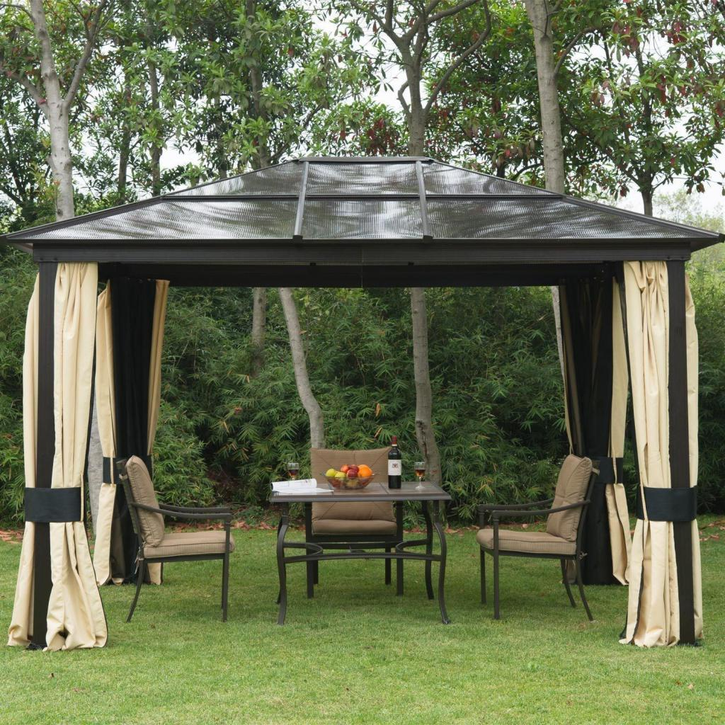 Pergola with your own hands from metal dimensions