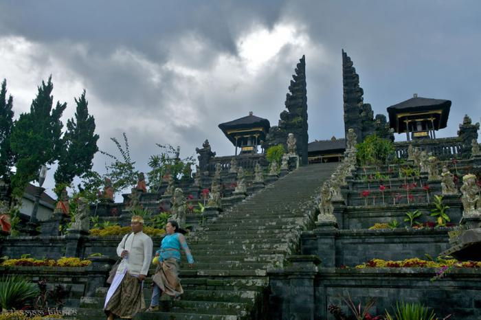 Bali where it is located
