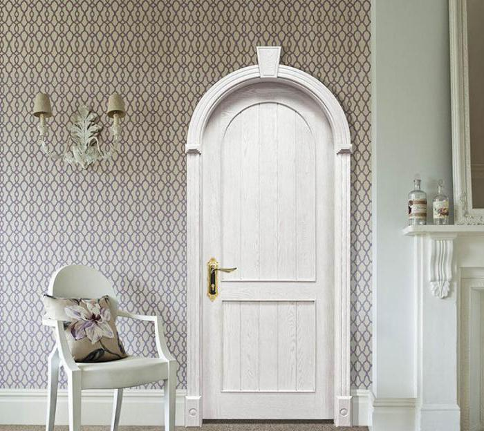 arched sliding door