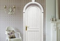 Arched door — elegance and chic interior