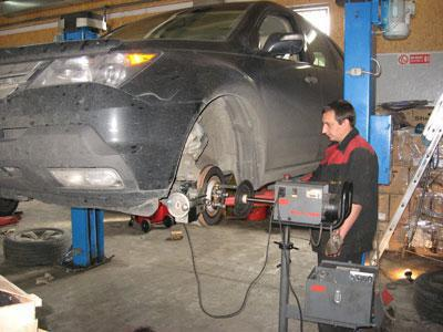 groove brake discs without removing the