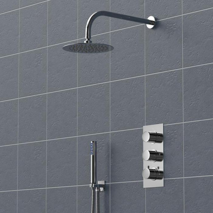 mixer shower with concealed mounting