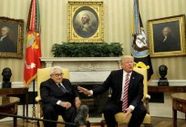 Henry Kissinger: diplomacy in theory and practice