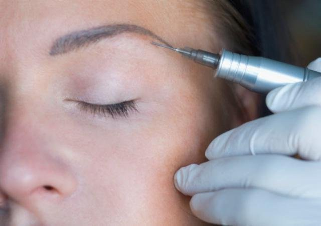 permanent makeup eyebrow shadow feather reviews