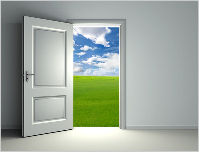 the Open door in the dream