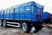 Trailer SZAP: photos, specifications