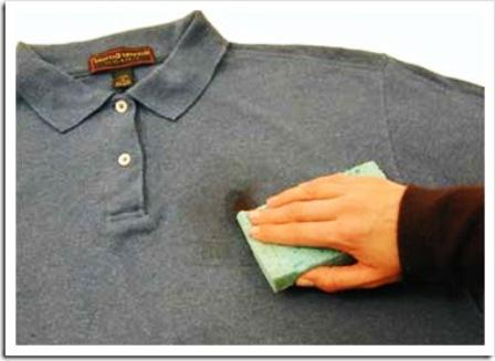 how to bring an oil stain from clothing
