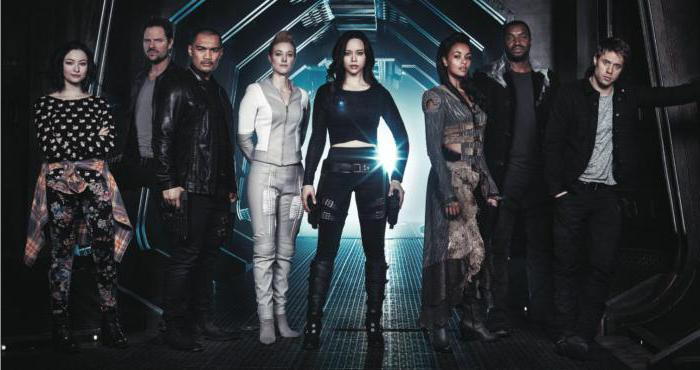 the dark matter of the season 3 actors