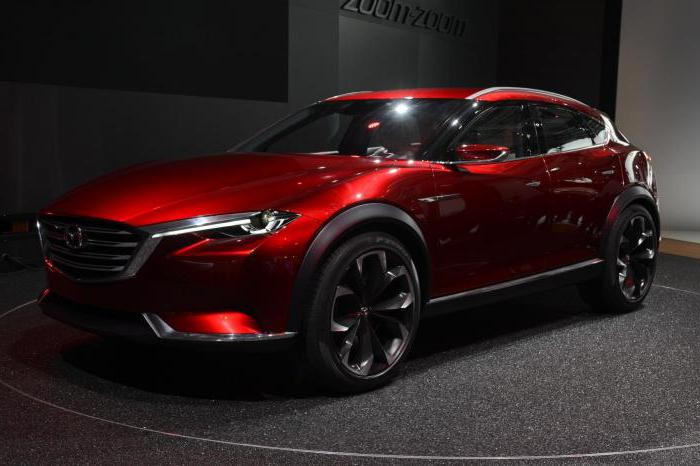 technical characteristics of mazda cx 7