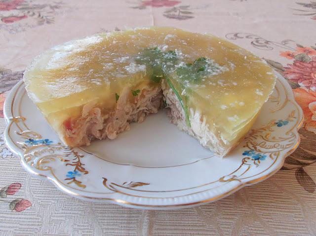 how to cook aspic