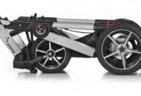 Stroller Hartan Racer GT : overview, types, models and reviews