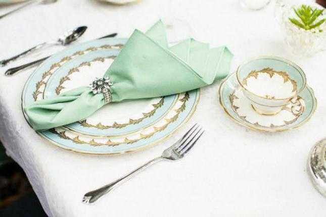 wedding mint color
