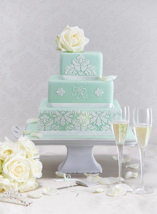 wedding in mint colours