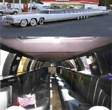 How many meters is the longest car in the world