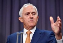 The Prime Minister of Australia Malcolm Turnbull - biography