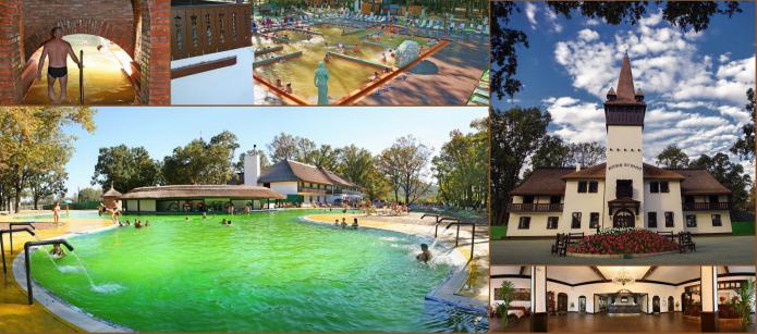 Stay in Kosino thermal waters